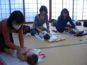 熊本県八代市ベビーマッサージスクール